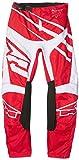 AXO MX3T0059WR38 Pantalone Cross Sr Jr, Rosso/Bianco, 38