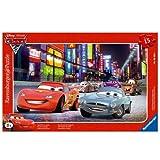 Ravensburger 06006 1 - Puzzle Incorniciato 15 Pezzi Cars