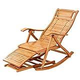 SjYsXm-Recliners chair Recliners Bambus Schaukelstuhl Erwachsenen Klappstuhl Home Napping Stuhl Cool Stühle Old Man Stuhl Mittagspause Holzstuhl mit Rückenlehne und Fußmassagegerät