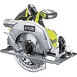 Ryobi R18CS7-0 R18CS7 - 0 One + 18 V Cordless brushless Sega Circolare (Solo Corpo), 200 W, Hyper Green