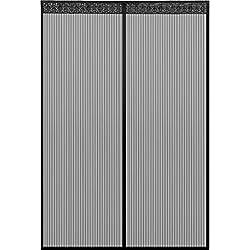 Icegrey Fliegen Gitter T/ürvorhang Magnetic Moskito Netz,12 Gr/ö/ße verf/ügbar Passend T/üren bis zu 90cm X 220cm MAX Schwarz