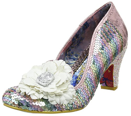 Irregular Choice Damen Hey Fever Pumps, Weiß (White Multi A), 41 EU