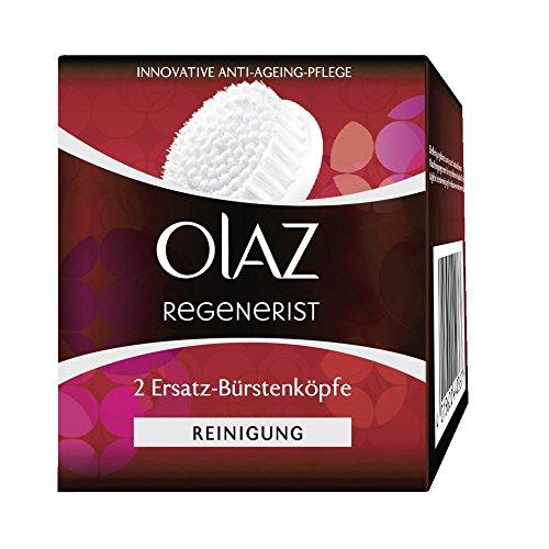 Olaz Regenerist 2 Ersatz-Bürstenköpfe, für das 3 Zonen Reinigungssystem