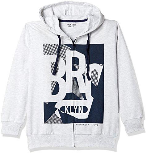 PalmTree Baby Boys' Jacket (131246517057 C204 White Melange(C204) 12M)