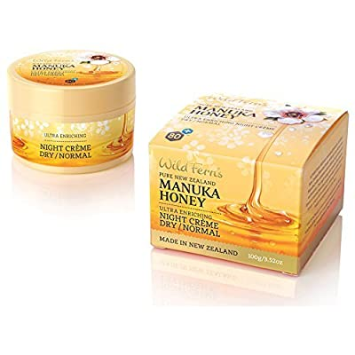 Wild Ferns Manuka Honey Night Cream for Dry to Normal Skin