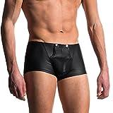CICIYONER Heißer Verkauf! Herren Sexy Unterwäsche Kurze Hose Unterhose Weich Baumwolle Slip Höschen (M, Schwarz)