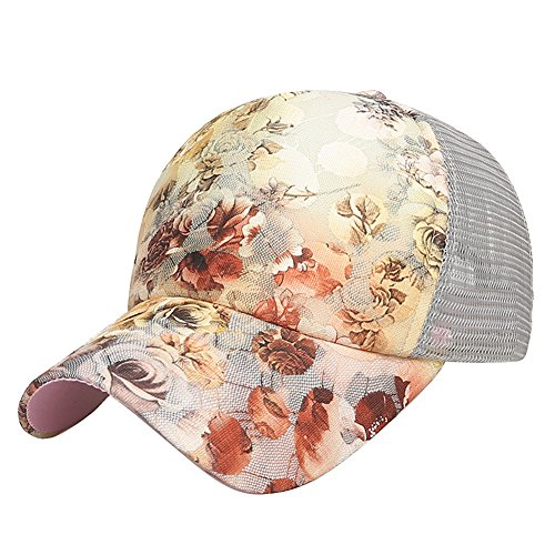 LONTG New Lady Baseball Golf Caps Sun Hat Fast Dry Mesh Hats Peak Cap  Fashion Floral 8055edebf3e9