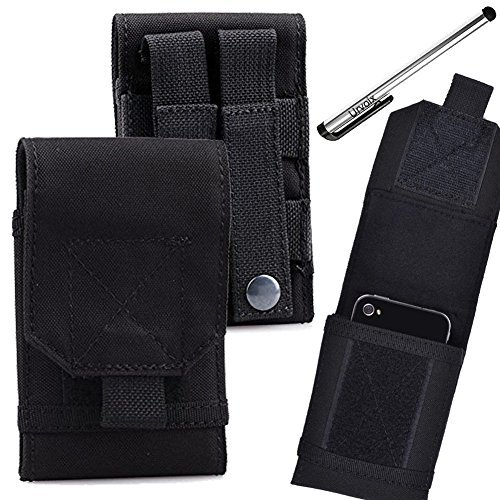 Armee Camo Tasche für Handy Gürteltasche Holster Schutzhülle Größe M ()