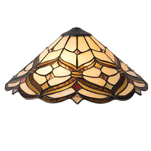 Lumilamp 5LL-5884 Lampen Schirm Tiffany Ø 40x28 cm Lampenschirm Jugendstil