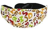 Lucklystar® Baby-Autositz-Kopfband, Kinderautositz-Kopfstütze - Eine bequeme sichere Schlaflösung, Sicherheits-Spaziergänger-justierbarer Kopf-Schlaf-Gurt-Halter.1Pcs