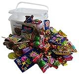 Süßigkeiten – Mix Party Box ohne Schokolade 192-teilig, für Kindergeburtstag mit 6 Kinder, 1er Pack (1 x 1 kg)