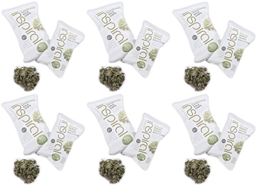 6-PACK-inSpiral-Wasabi-Wheatgrass-Kale-Chips-IVP16-30g-6-PACK-BUNDLE