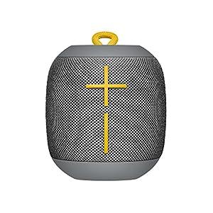 Ultimate Ears WONDERBOOM Bluetooth Speaker Waterproof with Double-Up Connection - Stone Grey