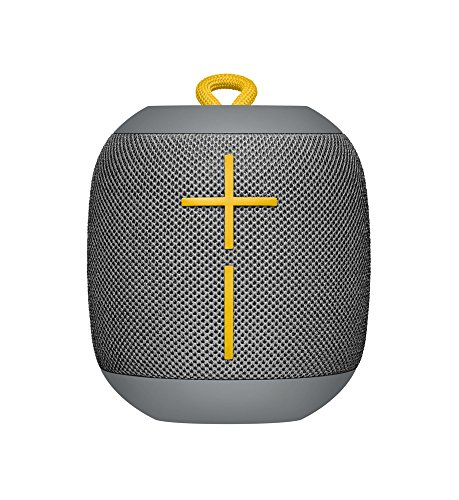 Ultimate Ears WONDERBOOM - Altavoz inalámbrico individual, Bluetooth, resistente a los golpes, impermeable, con conexión por partida doble, color gris