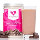 Whey Protein Concentrate & Whey Isolate with Papain and essential Vitamins / WOMEN'S BEST Post workout shake – With high bio-availability and amino acids content / For Muscle building and Weight loss - 500g powder