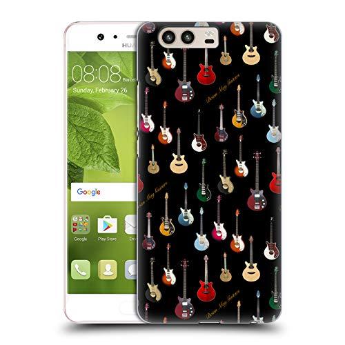 e4aa32da2c Head Case Designs Ufficiale Queen Chitarra Brian May Cover Retro Rigida per  Huawei P10