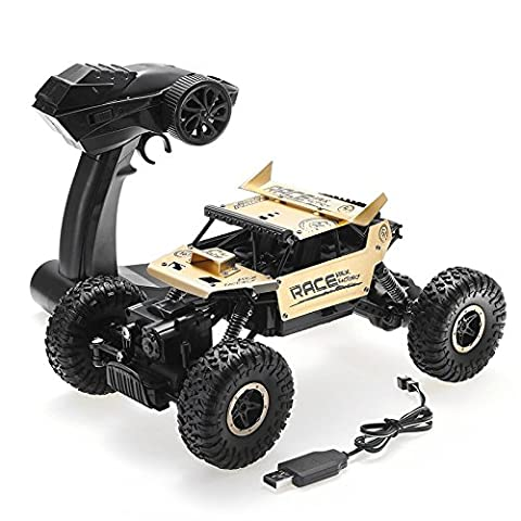 GEHOO GH Flytec 9118 1/18 4WD Alliage hors route RC Voiture d'escalade High Speed Clamber Cross-country Jouets de véhicules