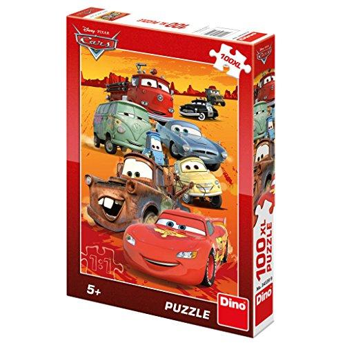 wertigen Puzzle;Disney-Autos Motiv, 100 XL Stück (Autos Party Favor Boxen)