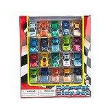 Blue Block Factory 17Piece Street Racer Sports Car DIE-CAST Metal Play Set For