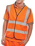 Chaleco de alta visibilidad, de BSeen EN471 ? naranja, XXL