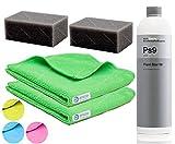 Koch Chemie Plast Star PSS + 2xApplikator + 2xMicrofasertücher + Reifenapplikator PSS-ProfiSet