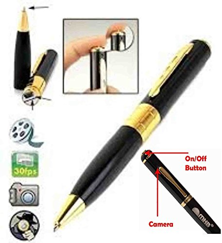 Voltac Spy Hd Pen Camera with Voice-Video Recorder and Dvr-Hidden-Camcorder (Multi-Color) Model 383318