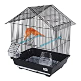 Pet Ting Fingerhut Vogelkäfig, für Finken/Kanarienvögel Wellensittiche und andere ähnlich große Vögel