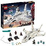 Lego Super Heroes Il Jet Stark e l'Attacco del Drone, Gioco per Bambini, Multicolore,382 x 262 x 70.5 mm, 76130