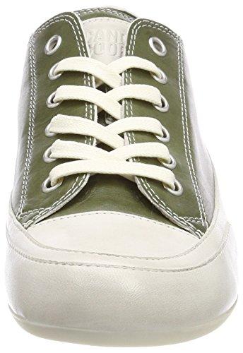 Candice Cooper Tamponato, Sneaker Donna Verde (Kaki)