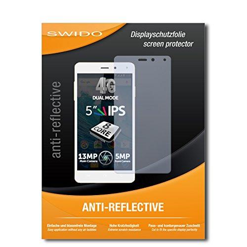 SWIDO Bildschirmschutz für Allview E4 Lite [4 Stück] Anti-Reflex MATT Entspiegelnd, Hoher Härtegrad, Schutz vor Kratzer/Glasfolie, Schutzfolie, Bildschirmschutzfolie, Panzerglas Folie