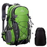 Meisohua Netchain Camping Backpack Large Trekking Rucksacks, Lightweight Waterproof Hiking Rucksack 40 45