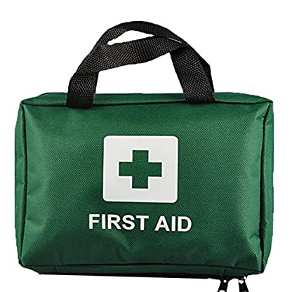 99pcs Supreme First Aid Kit Bag - Inc. Eye Wash, Crepe, Ice Pack, Thermal Blanket - Home, Office, Vehicle, Workplace… 1