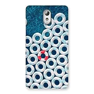 Cute Sea Saving Blue Back Case Cover for Lenovo Vibe P1M