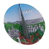SM SunniMix 3D Construcción Mundial Atracciones Imanes de Nevera Decoración Casera - Dubai