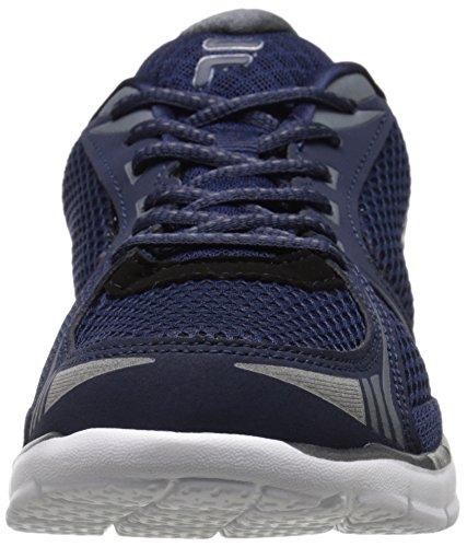 Fila Luxey scarpa da running Fila Navy/Castlerock/Metallic Silver