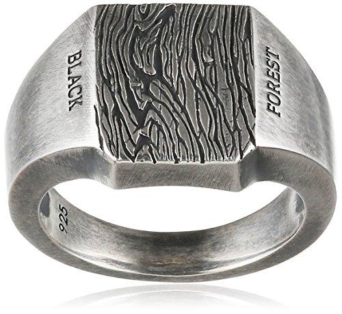 caï men Herren Ring Black Forest 925 Silber vintage-oxidized 64 (20.4) - C4195R/90/00/64