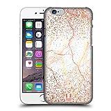 Head Case Designs Rose Gold Marmor Glitzer Druecke Ruckseite Hülle für iPhone 6 / iPhone 6s