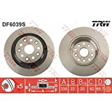 TRW DF6039S Disco freno