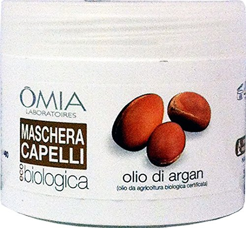 OMIA Maschera Capelli Biologica Olio Di Argan 250 Ml