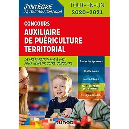 Concours Auxiliaire de puériculture territorial 2020-2021 - Tout-en-un