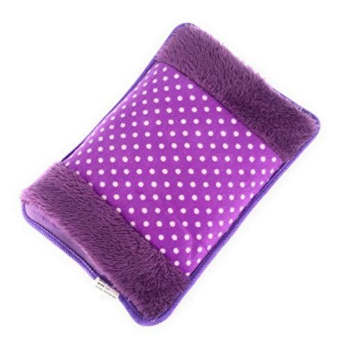 MovilCom® Bolsa de Agua Caliente Eléctrica | Recargable en sólo 15 minutos | Calentamanos | Dolor muscular, espalda, menstrual 600Watt (Mod.04)
