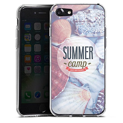 Apple iPhone X Silikon Hülle Case Schutzhülle Sommer Urlaub Springbreak Silikon Case transparent