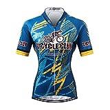 Thriller Rider Sports® Donna Bicycle Club Sport e Tempo Libero Abbigliamento Ciclismo Magliette Manica Corta Medium