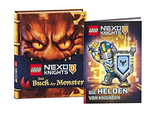 Preisvergleich Produktbild LEGO® Nexo Knights Bücher Set - Das Buch der Monster und Die Helden von Knighton