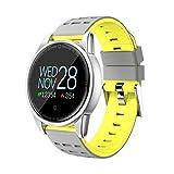 Cardiofrequenzimetro da Polso con fitness activity tracker per iOS Android Impermeabile IP68 Bluetooth:VER4.0 - beautyjourney braccialetto fitness uomo Smartwatch Orologio Fitness smartband