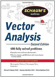 Schaum's Outline of Vector Analysis, 2ed (Schaum's Outline Series) (Edition 2) by Spiegel, Murray, Lipschutz, Seymour [Paperback(2009??]