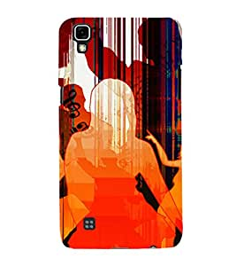 PrintVisa Dance Party Music Art 3D Hard Polycarbonate Designer Back Case Cover for LG X Power