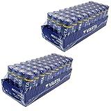 80 x Varta Batterien Alkaline, Mignon, AA, LR06,...