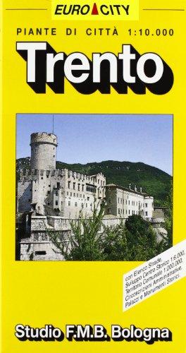 Trento. Pianta della città 1:10.000 (Euro City)