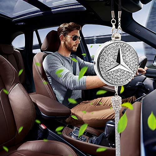 Scheda dettagliata VILLSION Deodorante per Auto Logo Emblema Pendente di Profumo fragranze per Auto Vieni con Confezione Regalo